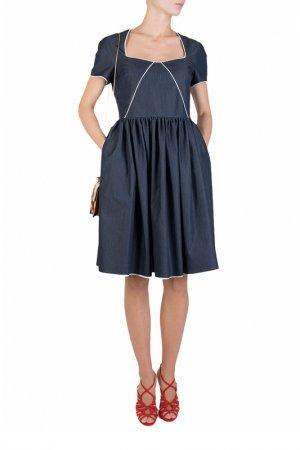 Платье ALTER EGO. Цвет: синий