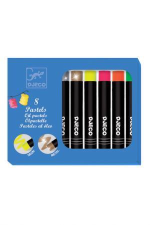 Набор пастельных карандашей Djeco. Цвет: мультицвет