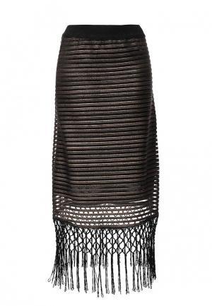 Юбка Lamania. Цвет: черный