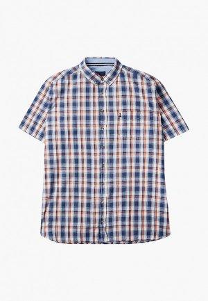 Рубашка North 56-4. Цвет: синий