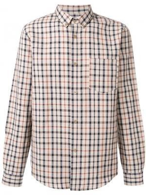 Рубашка с нагрудным карманом A.P.C.. Цвет: телесный