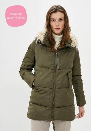 Куртка утепленная Deha. Цвет: хаки