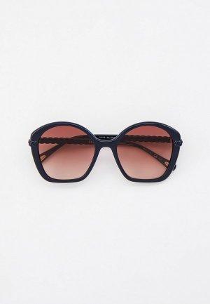 Очки солнцезащитные Chloe. Цвет: черный