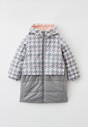 Куртка утепленная Boom. Цвет: серый