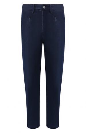 Укороченные джинсы прямого кроя Damir Doma. Цвет: темно-синий