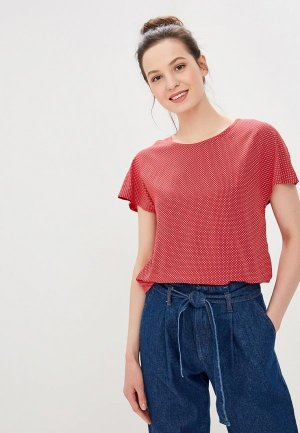 Блуза Roxy. Цвет: красный