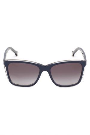 Солнцезащитные очки CAROLINA HERRERA. Цвет: синий