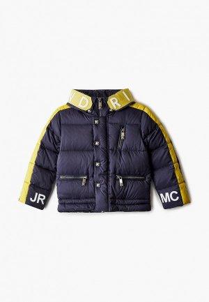 Куртка утепленная John Richmond. Цвет: синий
