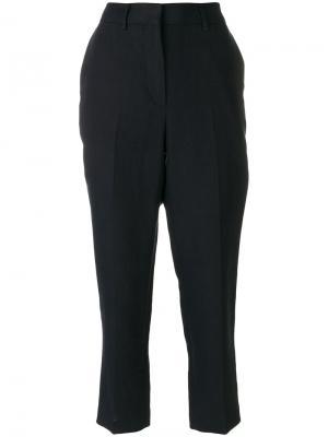 Классические укороченные брюки Margaret Howell. Цвет: синий