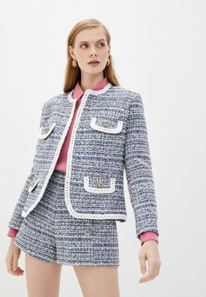 Жакет Forte Dei Marmi Couture. Цвет: синий