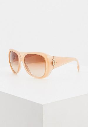 Очки солнцезащитные Burberry. Цвет: бежевый
