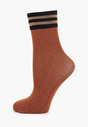 Носки Sisley. Цвет: коричневый