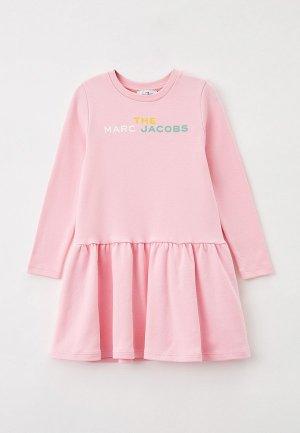 Платье Marc Jacobs. Цвет: розовый
