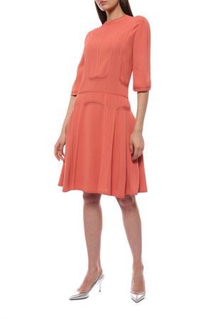 Платье ELIE SAAB. Цвет: бордовый