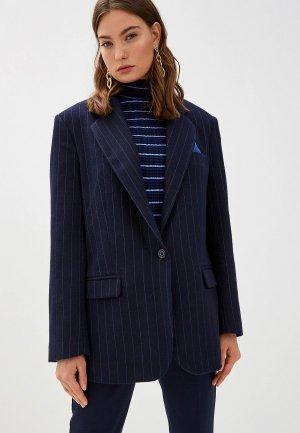 Пиджак Forte Dei Marmi Couture. Цвет: синий