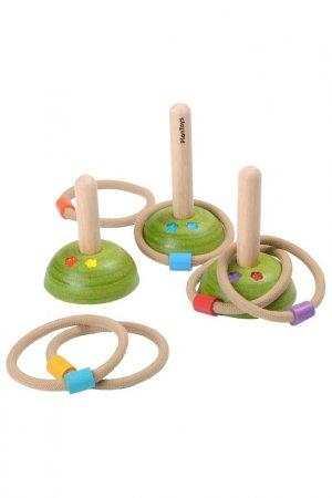 Кольцо для кидания Plan Toys. Цвет: салатовый