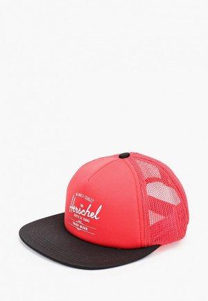 Бейсболка Herschel Supply Co. Цвет: розовый
