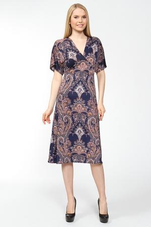 Платье ARRANGEE. Цвет: синий