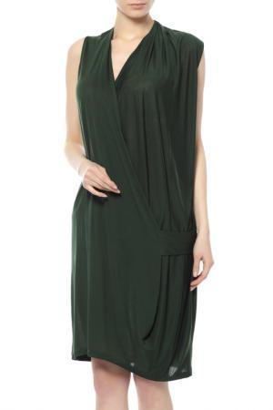 Платье Acne Studios. Цвет: зеленый