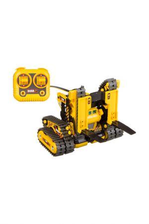 Опыты Робот-машина 3 в 1 BONDIBON. Цвет: желтый