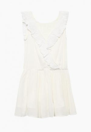 Платье 3 Pommes. Цвет: белый