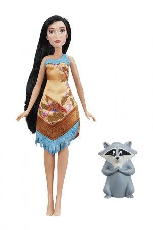 Кукла Покахонтас с питомцем DISNEY PRINCESS. Цвет: мультицвет