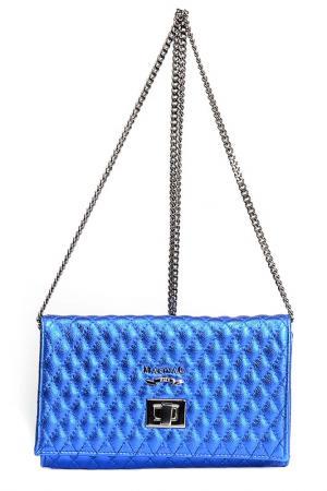 Сумка-клатч Marina Creazioni. Цвет: синий