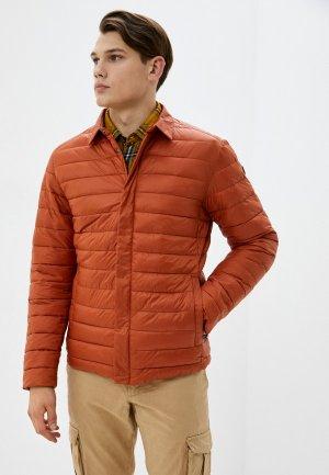 Куртка утепленная Luhta. Цвет: коричневый