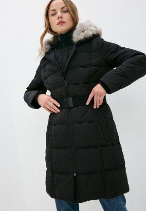 Куртка утепленная DKNY. Цвет: черный