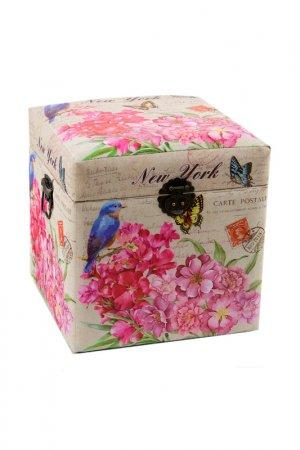 Коробка для хранения ГЛАСАР. Цвет: бежевый