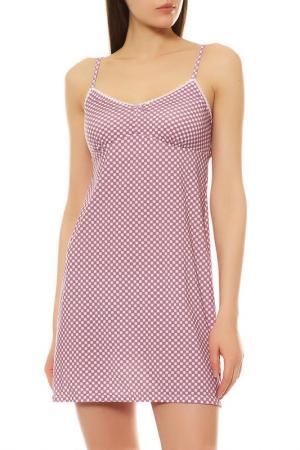 Ночная сорочка LADY FLEUR. Цвет: ромбы