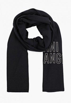 Шарф Armani Exchange. Цвет: черный