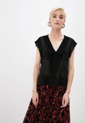 Блуза Liu Jo. Цвет: черный