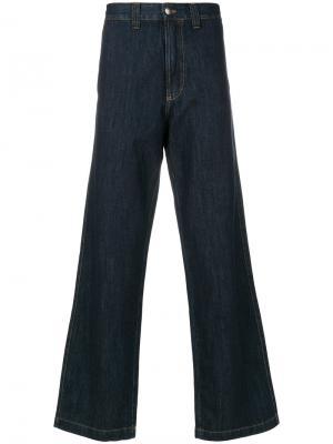 Широкие джинсы Winter Perfetto Société Anonyme. Цвет: синий
