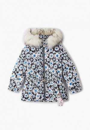 Куртка утепленная Poivre Blanc. Цвет: разноцветный