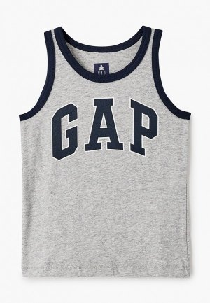 Майка Gap. Цвет: серый