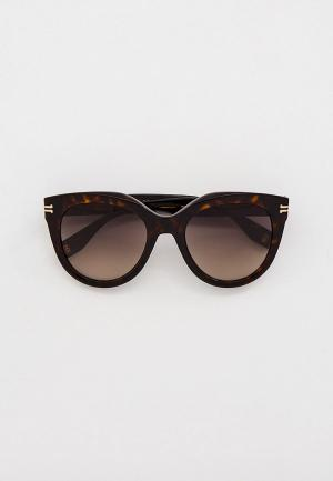 Очки солнцезащитные Marc Jacobs. Цвет: коричневый