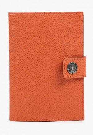 Обложка для паспорта Dimanche. Цвет: коралловый