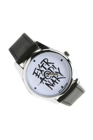 Часы Экстраординарный MITYA VESELKOV. Цвет: черный