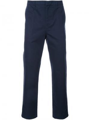 Классические брюки чинос Golden Goose Deluxe Brand. Цвет: синий