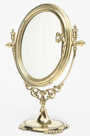 Зеркало Либерти Stilars. Цвет: золотой