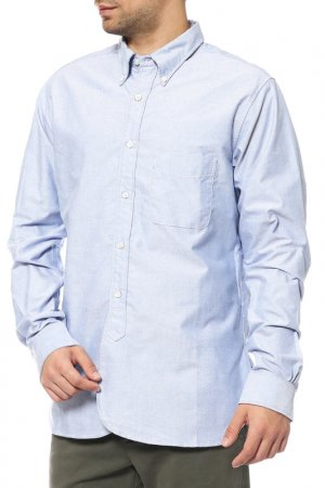 Рубашка ENGINEERED GARMENTS. Цвет: голубой