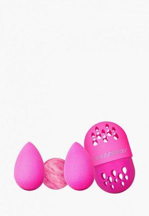 Набор спонжей для макияжа beautyblender. Цвет: розовый