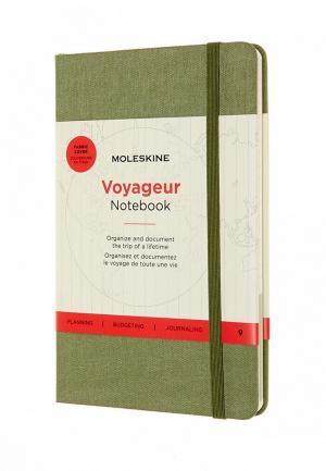 Блокнот Moleskine. Цвет: зеленый