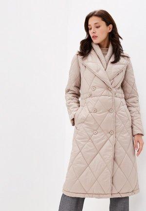 Куртка утепленная Grand Style. Цвет: бежевый