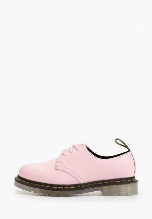Ботинки Dr. Martens. Цвет: розовый
