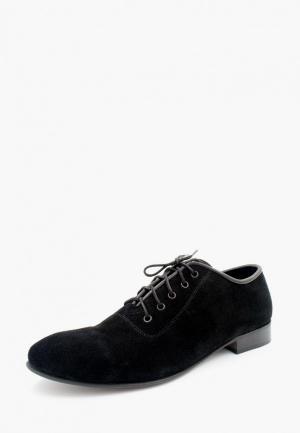 Туфли LioKaz. Цвет: черный
