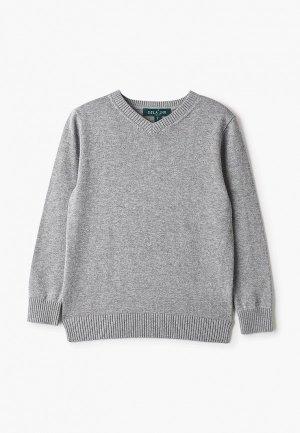 Пуловер Sela. Цвет: серый