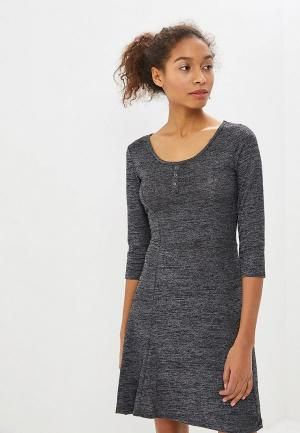 Платье Alcott. Цвет: серый