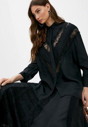 Блуза By Malene Birger. Цвет: черный